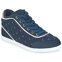 Chaussures Femme Baskets montantes André KINGDOM Bleu