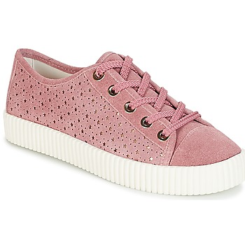 efbffe2b9a96b7 Chaussures Femme Baskets basses André STARLIGHT Rose