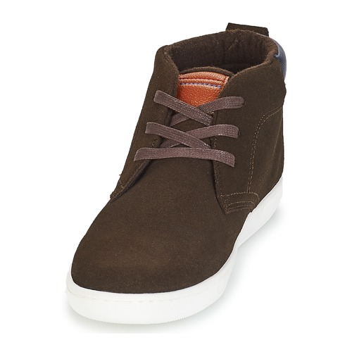 Marron Frontside André Baskets Homme Montantes Yfyb67g