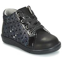 Chaussures Fille Boots André POIS Noir