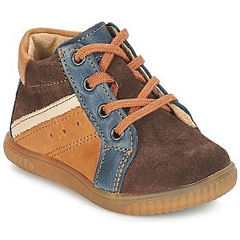 Chaussures Garçon Boots André W Marron