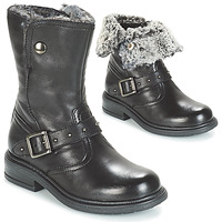 Chaussures Fille Boots André GIBOULEE Noir