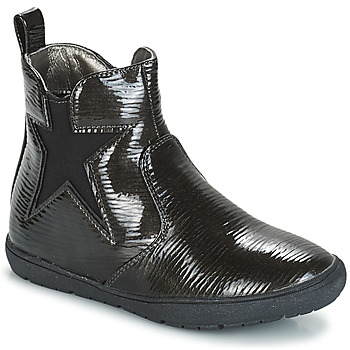 Chaussures Fille Boots André FURY Noir