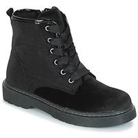 Chaussures Fille Boots André ROCKABILLY Noir