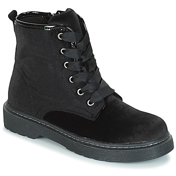 Chaussures Fille Boots André ROCKABILLY Noir