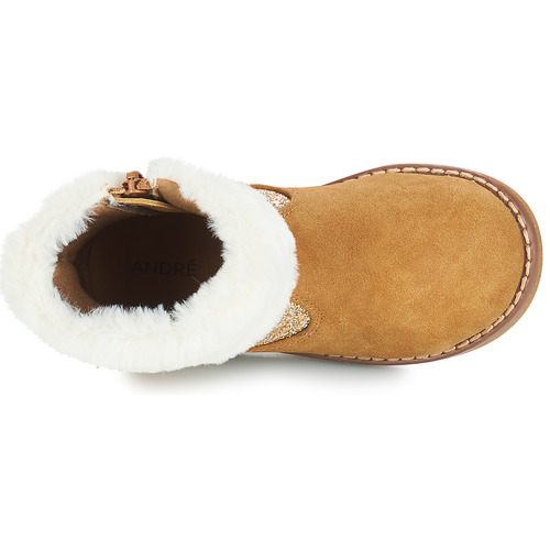 Marron Boots Chaussures André Fille Alaska wO0P8nk