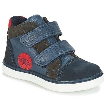 Chaussures Garçon Baskets montantes André JET Bleu