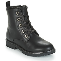 Chaussures Fille Boots André CLAPTON Noir