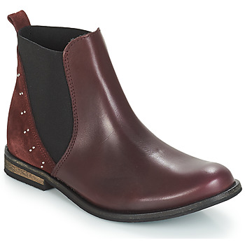 Chaussures Fille Boots André MUSCADE Bordeaux