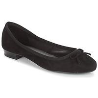 Chaussures Femme Ballerines / babies André CINDY Noir