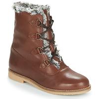 Chaussures Femme Boots André CHAMONIX Marron