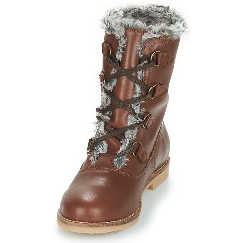 Marron Femme Boots André Chaussures Chamonix A35L4jqR