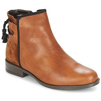 Chaussures Femme Boots André TITOL Marron