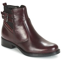 Chaussures Femme Boots André CARLIN Bordeaux