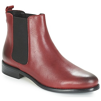 Chaussures Femme Boots André CARAMEL Rouge