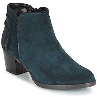 Chaussures Femme Bottines André MISTINGUETTE Bleu
