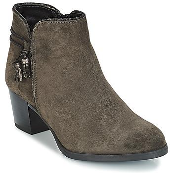 Chaussures Femme Bottines André MISTINGUETTE Gris
