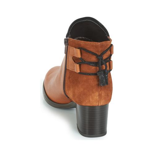 André Femme Tiron Femme André Boots Boots Marron Marron Tiron Qdhstr