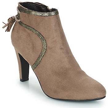 Chaussures Femme Boots André AUREL Beige
