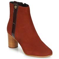 Chaussures Femme Bottines André FILO Rouge