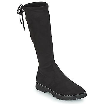 Chaussures Femme Bottes ville André ABATOR Noir