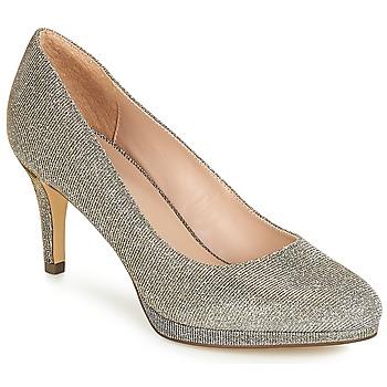 Chaussures Femme Escarpins André CRYSTAL Argenté