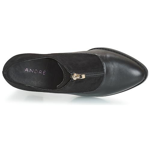 André Flores Femme Bottines Chaussures Noir LUpjGqzMVS