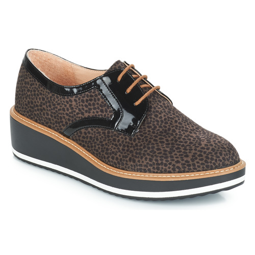 Chaussures Marron Femme Derbies André Chicago Qrdsth