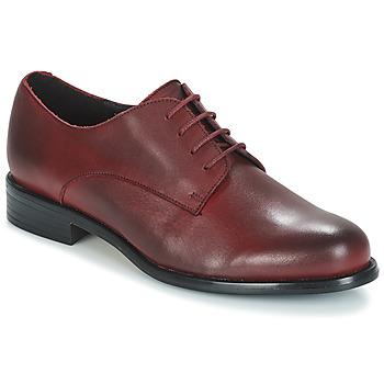 Chaussures Femme Derbies André LOUKOUM Rouge
