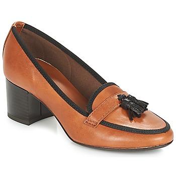 6d29dad6385 Chaussures Femme Escarpins André TEMPLA Marron