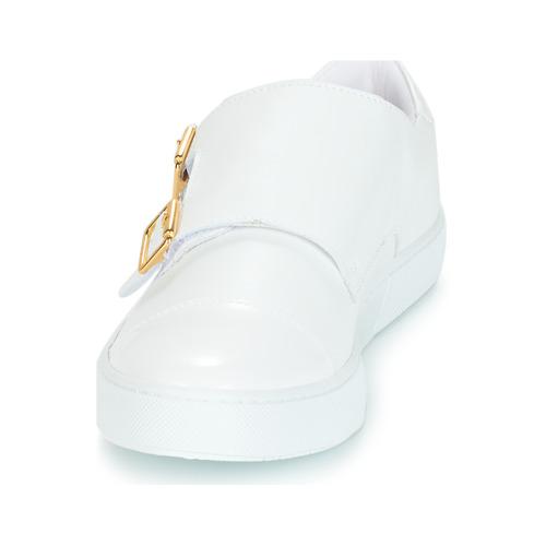 Taous André Baskets Basses Blanc Femme dxrtQshC
