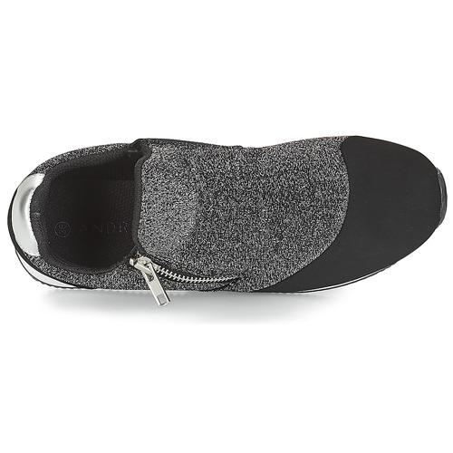 Prix Réduit Chaussures ihjdfh465DHU André TROPE Argenté
