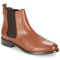 Chaussures Femme Bottines André CARAMEL Marron