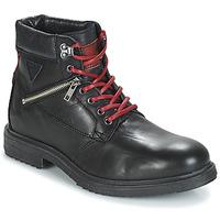 Chaussures Homme Boots André MORRO Noir