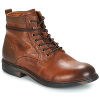 Chaussures Homme Boots André TREVOR Marron