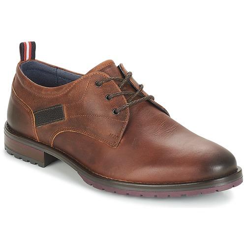 Chaussures Homme Derbies André MAURI Marron