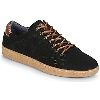 Chaussures Homme Baskets basses André LENNO Noir