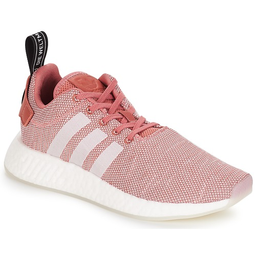 Chaussures Femme Baskets basses adidas Originals NMD R2 W Rose
