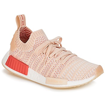low priced 957d1 535ab Chaussures Femme Baskets basses adidas Originals NMD R1 STLT PK W Blanc