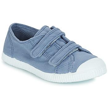 Chaussures Enfant Baskets basses André LITTLE SAND Bleu