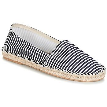 Chaussures Femme Espadrilles André JAMAIQUE Raye bleu