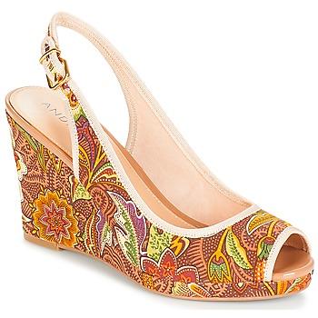 5ecec1608b Chaussures Femme Sandales et Nu-pieds André JULIETTA Taupe