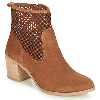 Chaussures Femme Boots André TOTEM Camel
