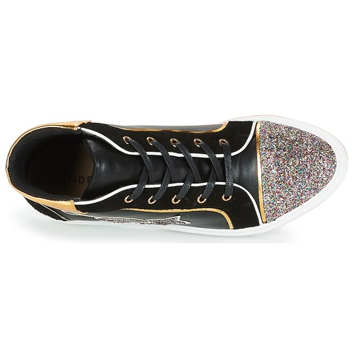 Lotus Montantes Femme André Baskets Noir vmw8nPy0ON