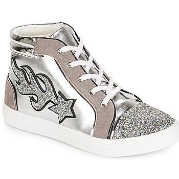 5392f5592759cc Chaussures Femme Baskets montantes André LOTUS Argent. Enregistrer. Soldes