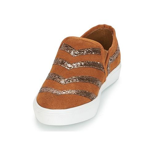 Louxor André Chaussures Slip Ons Marron Femme c3L5qRj4A
