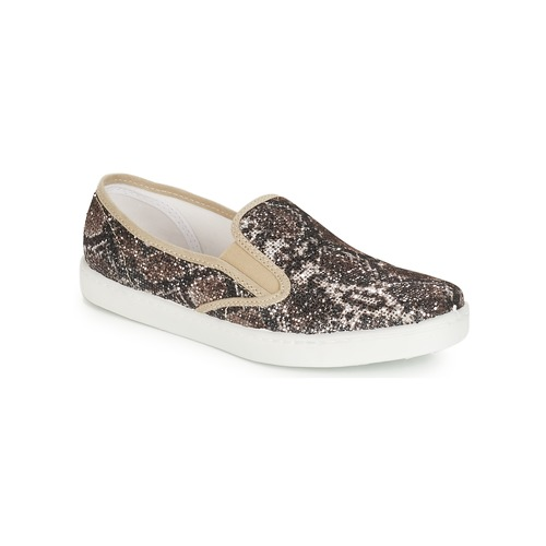 Chaussures Femme Slip ons André SAUVAGE Beige