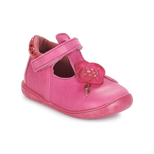 Chaussures Fille Ballerines / babies André FLORE Fuschia