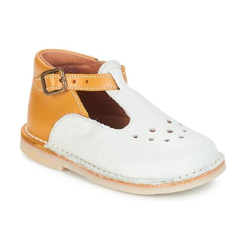 Chaussures Fille Ballerines / babies André FALAISE Ecru