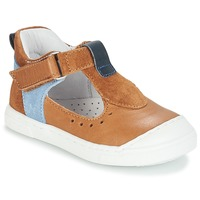 Chaussures Fille Ballerines / babies André SARBACANE Camel